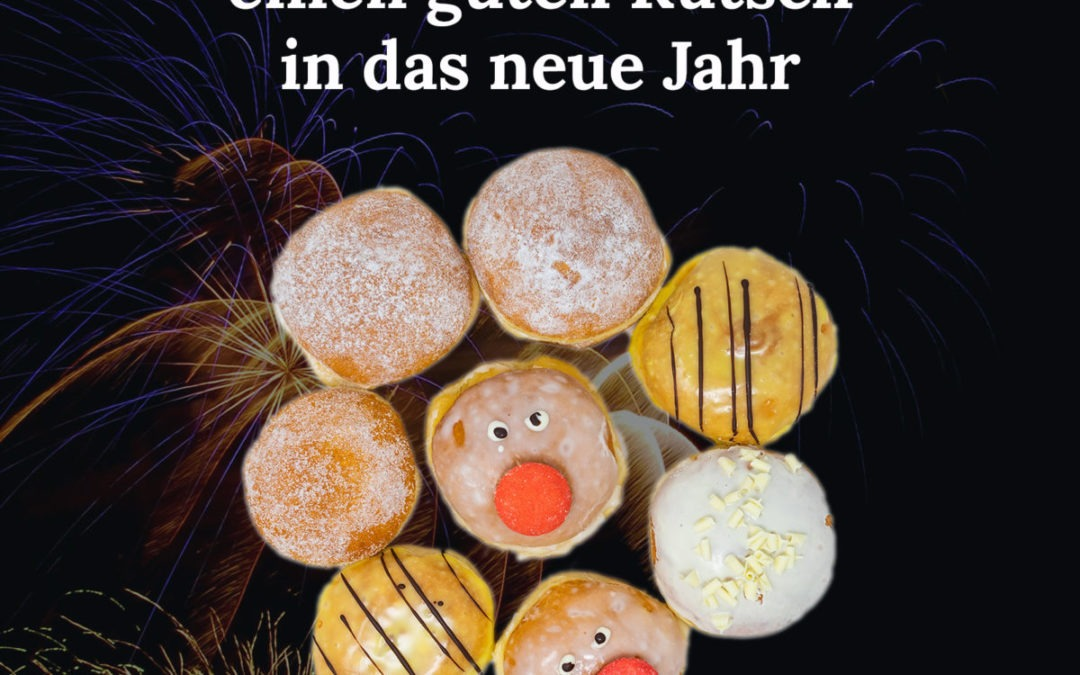 Wir wünschen einen guten Rutsch in das neue Jahr