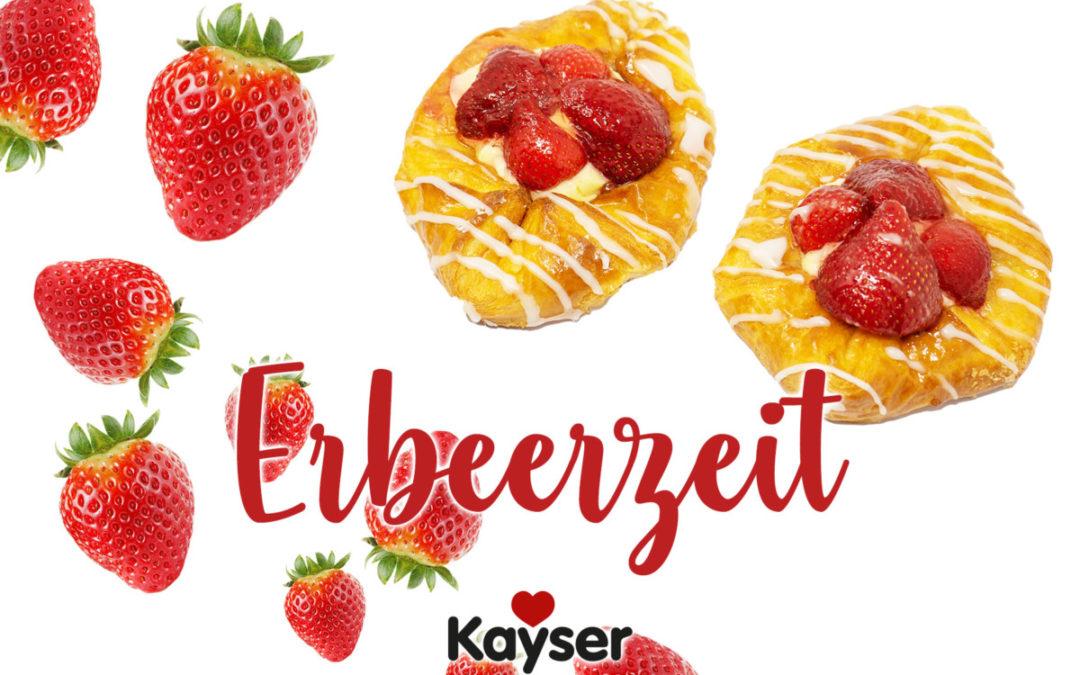Erdbeerzeit: Jetzt Produkte mit frischen Erdbeeren genießen