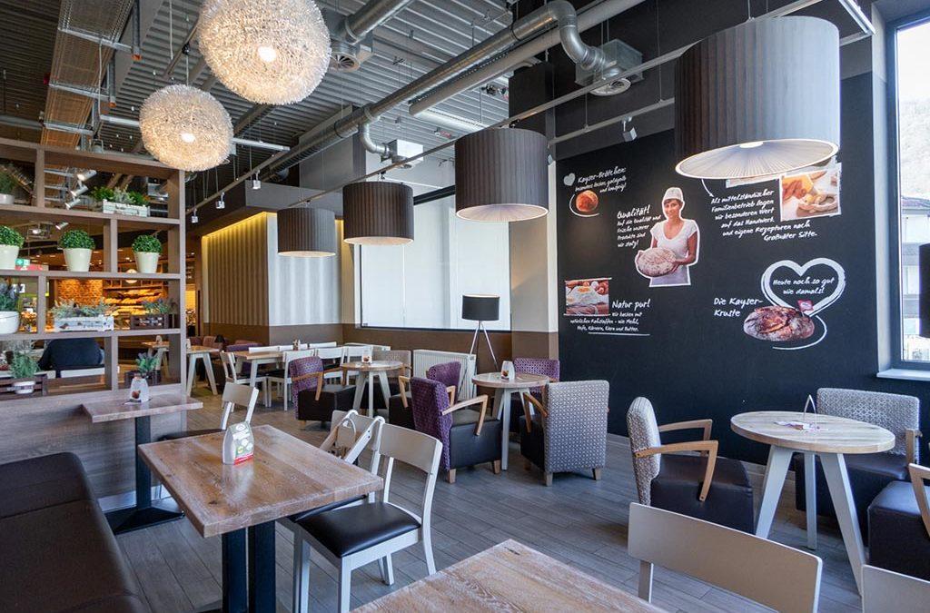 Ab dem 11. Juni 2021 Café-Bereiche wieder geöffnet